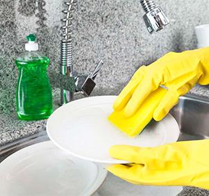 نظافة عميقة للمطبخ والحمام