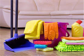 تنظيف المنزل للمرة الواحدة